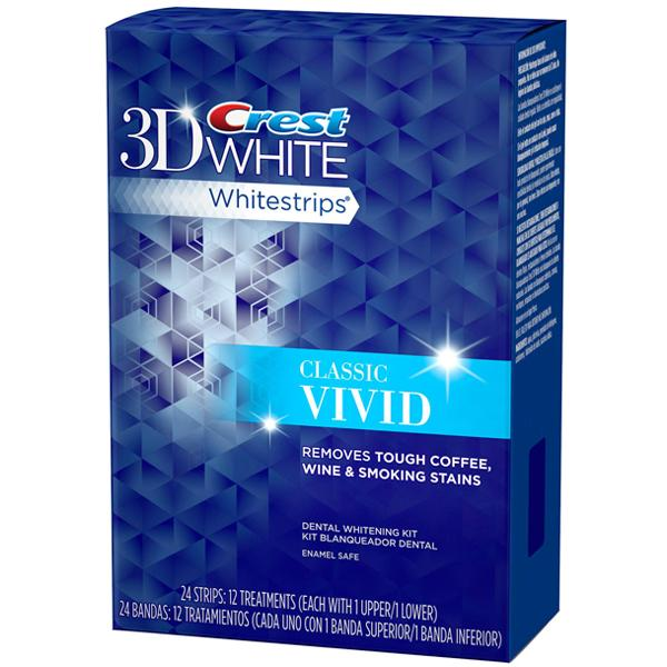 Полоски для отбеливания зубов Crest Whitestrips 3D White