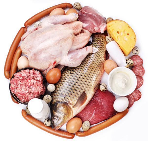 Заменимые аминокислоты содержатся в продуктах питания.