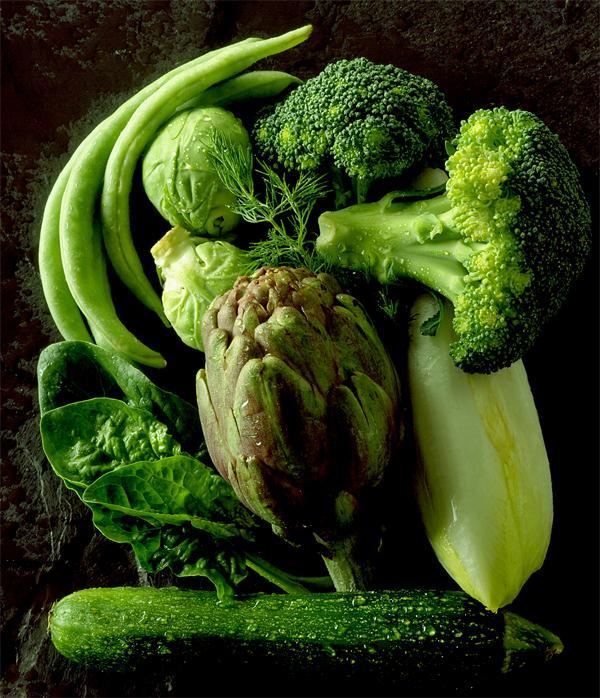 Употребляйте больше овощей и зелени