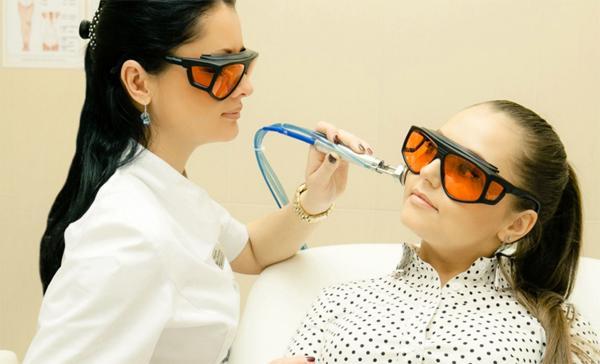 Применение лазера в косметологии