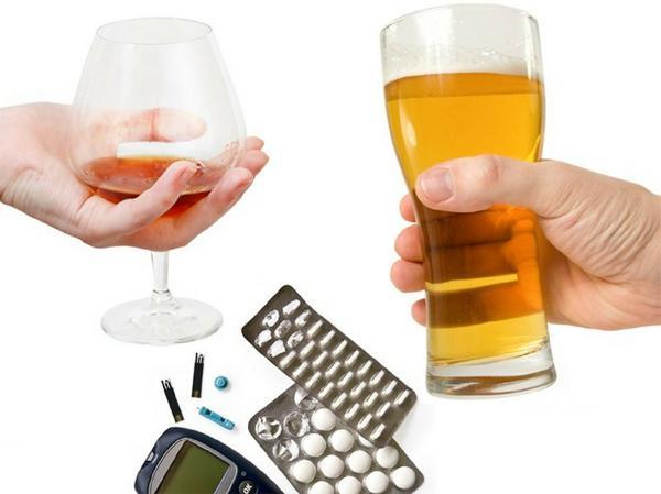 Почему диабетикам нельзя употреблять алкоголь?