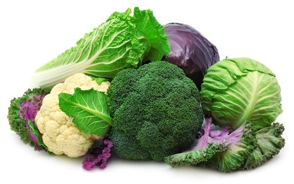 Крестоцветные овощи - помощники в сжигании жира на животе.