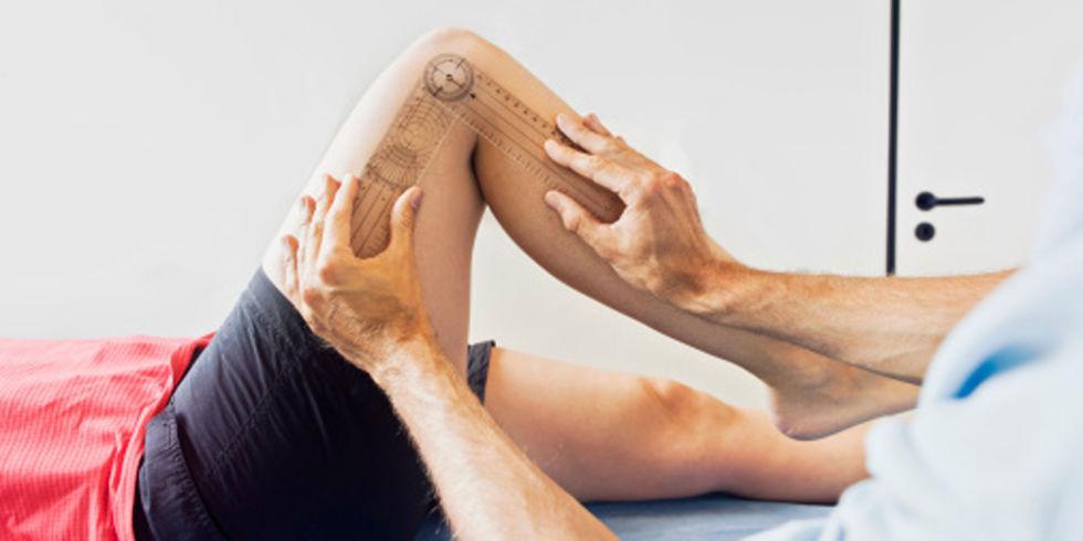 Повреждения коленного сустава - симптомы