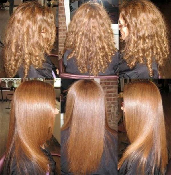Побочные эффекты выпрямления волос кератином