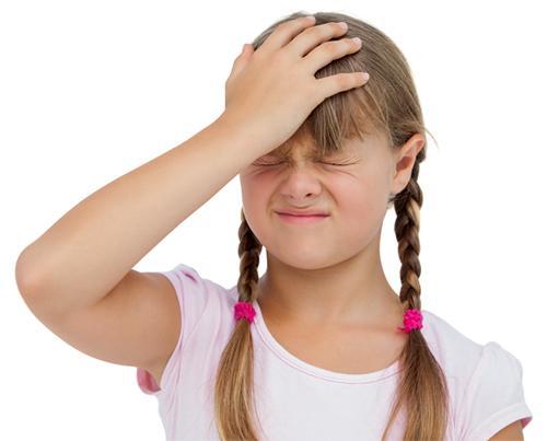 Причины головной боли у детей