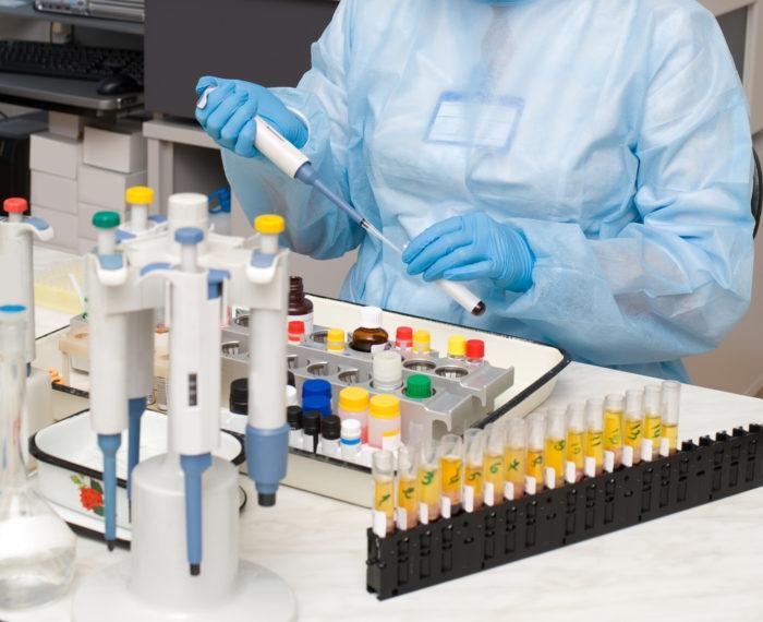проведение госпитального комплекса в лаборатории