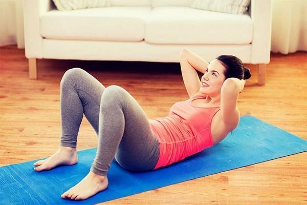 Абдоминальные упражнения после кесарева сечения