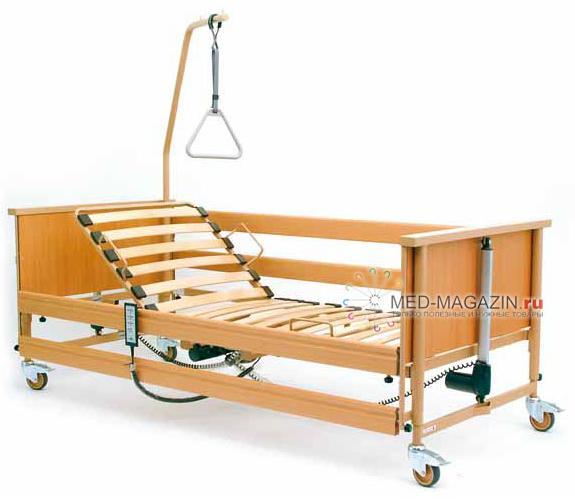 Удобные медицинские функциональные кровати для лежачих больных
