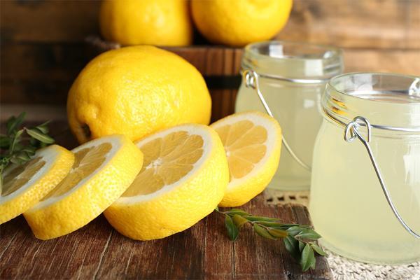 Лимонный сок и алоэ вера
