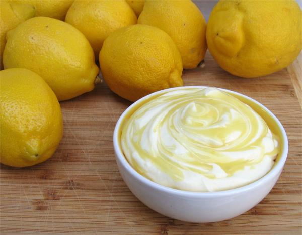 Йогурт с лимоном