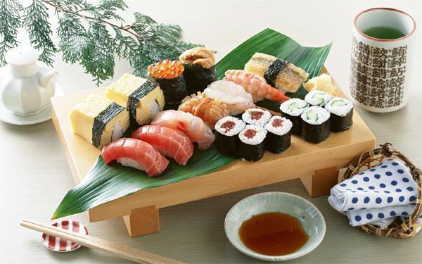 Заказать суши на дом в Днепропетровске