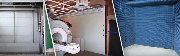 Клетка Фарадея для кабинета МРТ