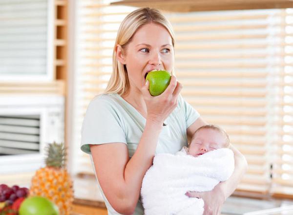 Изменение питания после беременности