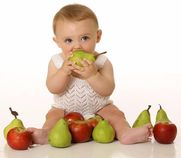 Обработка продуктов для детского питания