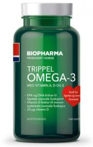 Здоровая диета и Омега-3 Biopharma