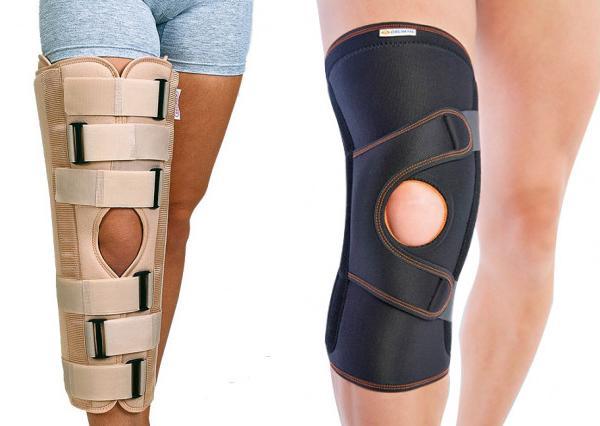 Бандаж на колено: разновидности и применение