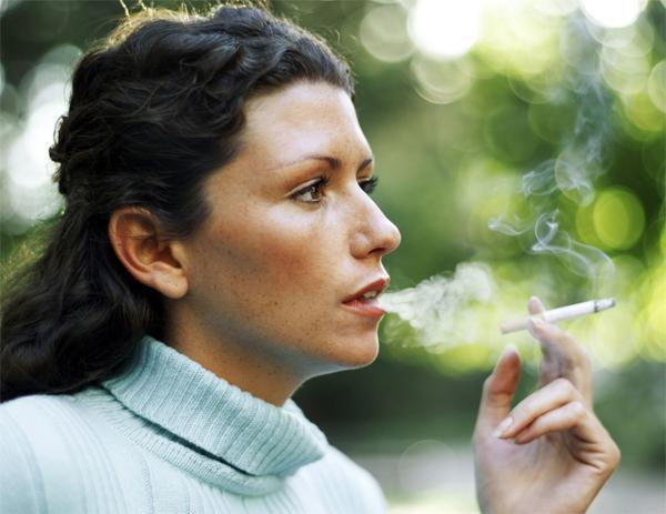 Как связаны синяки под глазами и курение?