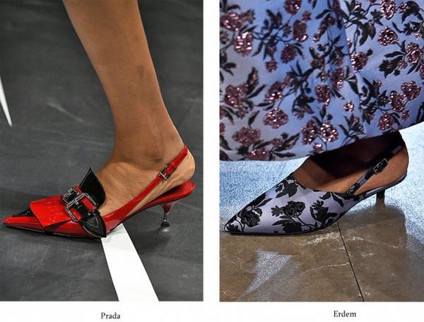 5 обувных трендов сезона весна-лето – 2018