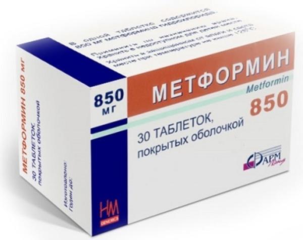 Эффективность применения метформина при синдроме поликистозных яичников