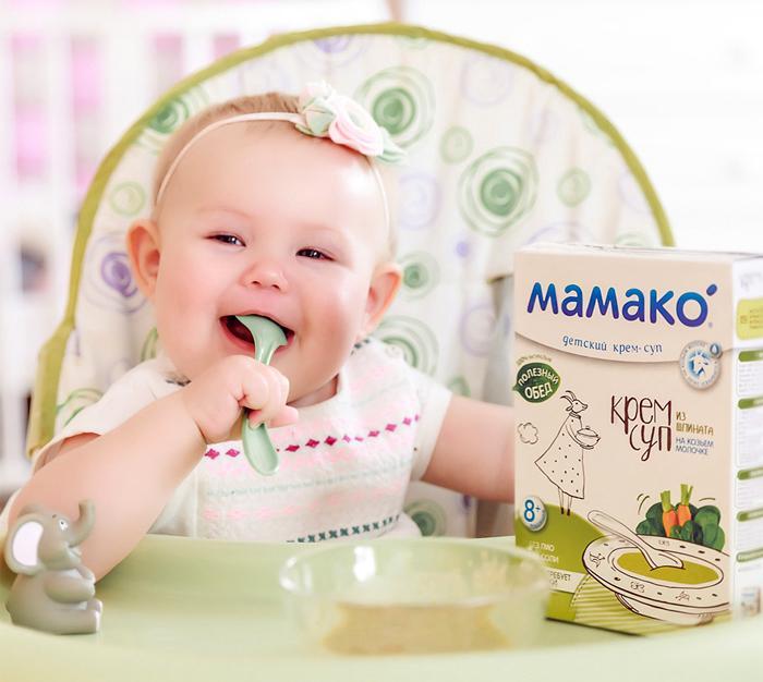 Первый прикорм ребёнка