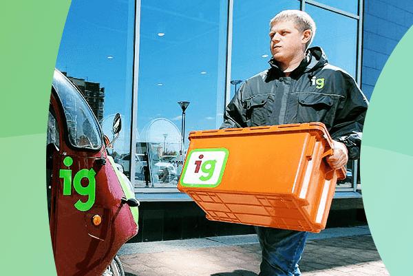 iGooods — быстрая доставка качественных продуктов!