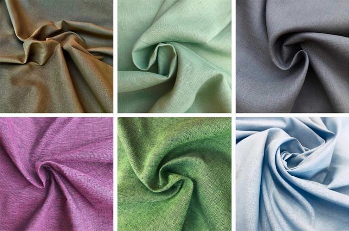 Льняные ткани высокого качества