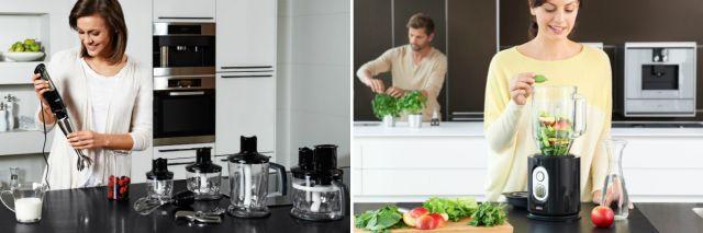 Погружные и стационарные блендеры Braun — надежные помощники на кухне